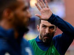 Gianluigi Buffon, portiere della Juve. Reuters