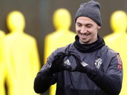 Zlatan Ibrahimović, 36 anni. AP