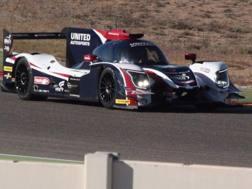Fernando Alonso, 36 anni, durante i test di oggi ad Aragon EPA