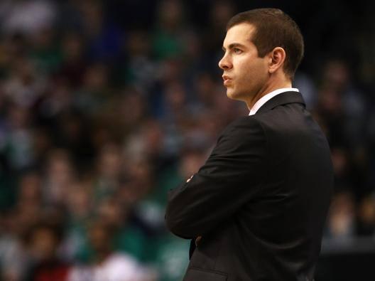 Brad Stevens, 41 anni, allena i Celtics dal 2013. Reuters