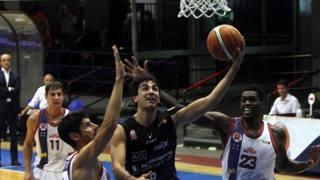 Marco Laganà, 24 anni, in azione con la maglia di Latina