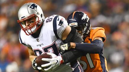Rob Gronkowski , 28 anni, tight end dei New England Patriots REUTERS