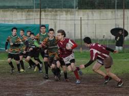Foto di repertorio di una gara giovanile di rugby