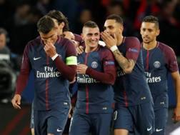 Anche Verratti in gol contro il Celtic. Reuters