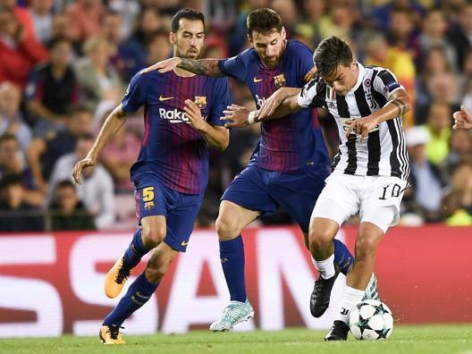 Juve e Roma, tocca a voi Barça: Messi in panchina