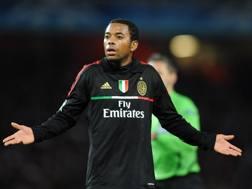 Robinho, 33 anni, ai tempi del Milan. Afp