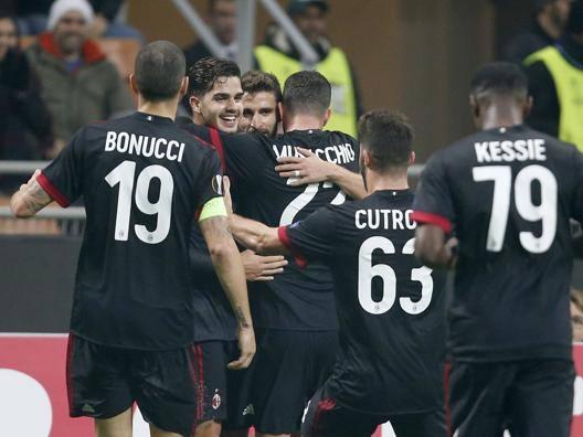 Bonucci dorme, il Milan no Rossoneri avanti da primi