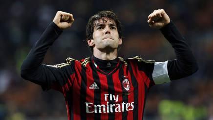 Kaká, 35 anni, quando giocava con il Milan Reuters
