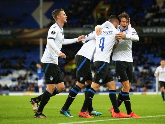 Everton-Atalanta 1-5, il tabellino