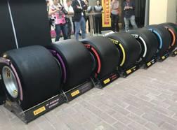 Le nuove Pirelli F1 per il 2018