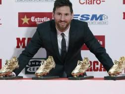 Leo Messi, 30 anni. LaPresse