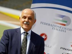 Il  presidente della Federazione Ciclistica Italiana, Renato Di Rocco - Bettini