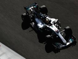 Lewis Hamilton. Getty