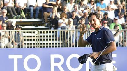 Matteo Manassero all'Open di Golf d'Italia