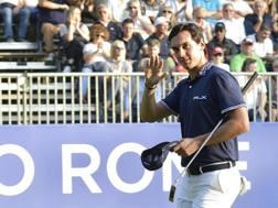 Matteo Manassero all'Open di Golf d'Italia