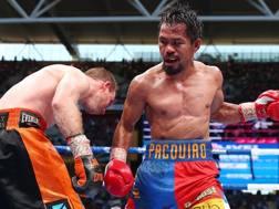 Manny Pacquiao, 38 anni GETTY