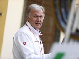 L'ex pro' Pietro Algeri, 67 anni, per 35 direttore sportivo. Bettini