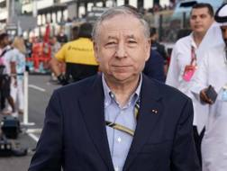 Il presidente della Fia Jean Todt. Lapresse