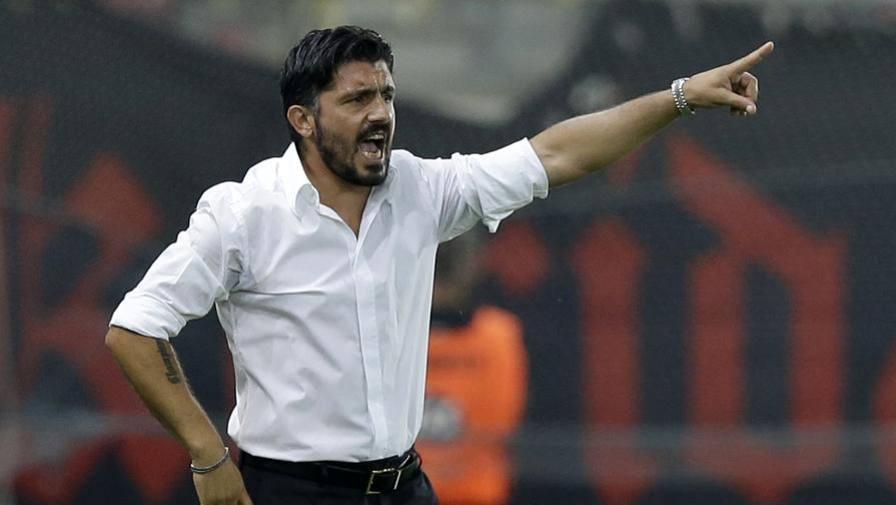 """Milan, Gattuso si """"presenta"""" LIVE La conferenza di Rino"""