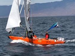 Dario Noseda su Pa2sh con cui sta attraversando l'Atlantico