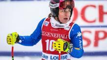 Elena Fanchini, migliore delle azzurre. Reuters