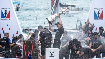 La vittoria di Team New Zealand