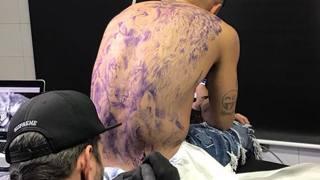 """Lorenzo Insigne e il nuovo tatuaggio verso la Juve: il leone """"ruggisce"""" forte"""