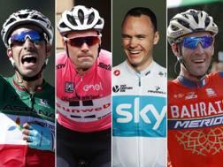 Aru, Dumoulin, Froome e Nibali: il Giro chiama 4 grandi assi