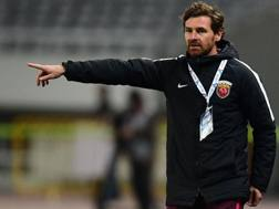 Il tecnico portoghese Andre Villas Boas. Afp