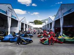 Piloti e team della Formula E pronti al via della stagione