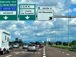Un tratto della Tangenziale Est di Milano