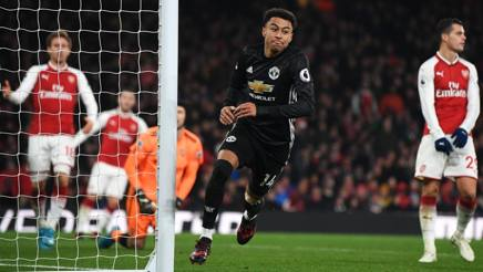 Lingard imprendibile all'Emirates. Getty Images