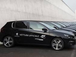 Le nuove Peugeot 308 personalizzate Federtennis