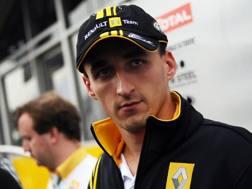 Robert Kubica, 32 anni. Afp