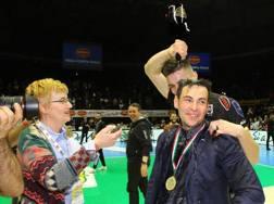 Blengini, 45 anni, ha vinto Coppa Italia e scudetto