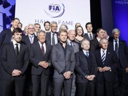 I campioni del mondo di oggi e di ieri alla serata della Hall of Fame