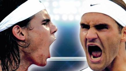 Rafa Nadal e Roger Federer: la cover del libro Gazzetta