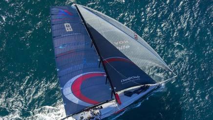 La barca che partecipa alal Volvo Race