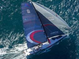La barca che partecipa alla Volvo Race