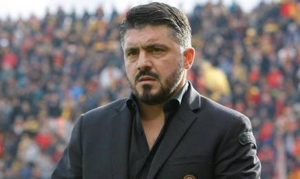 Gennaro Gattuso, 39 anni, è il tecnico del Milan Ansa