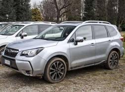 Il Subaru Forester utilizzato nel nostro test