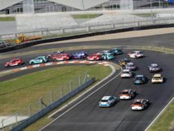 Le vetture del WTCC in azione