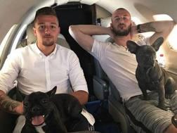 Sergej e Vanja Milinkovic-Savic, fratelli e rispettivamente centrocampista della Lazio e portiere del Torino