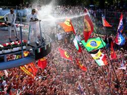 Il pubblico del GP d'Italia 2017. Getty