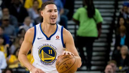 Klay Thompson, 27 anni, ai Warriors dal 2011. Reuters