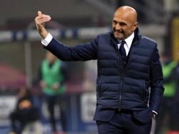 Luciano Spalletti (58 anni) al primo Juventus-Inter. ANSA
