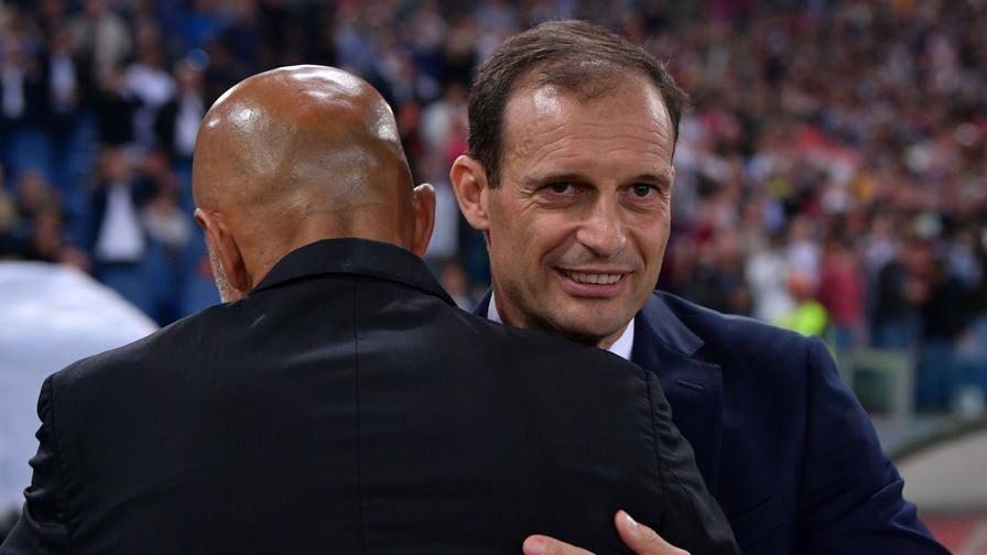 Juve, pretattica di Allegri Inter, Spalletti non ha dubbi Gattuso cambia: c'è il 4-3-3