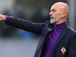 Stefano Pioli (52 anni), alla prima stagione sulla panchina della Fiorentina. GETTY IMAGES