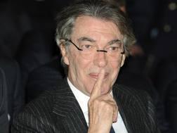 Massimo Moratti, 72 anni. ANSA