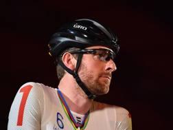 Bradley Wiggins, 37, qui ancora in versione ciclista. AFP